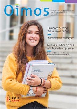 Ofertas de Salud y ópticas  en el folleto de GAES en Barcelona