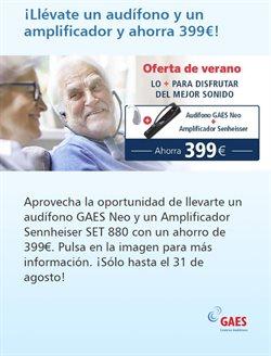 Ofertas de GAES  en el folleto de Madrid