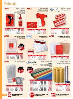 Ofertas de Bolsa para almacenaje  en el folleto de Carlin en León