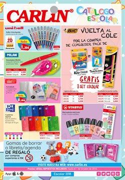 Ofertas de Libros y papelerías  en el folleto de Carlin en Gáldar