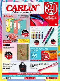 Ofertas de Libros y papelerías  en el folleto de Carlin en Motril
