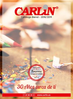 Ofertas de Libros y papelerías  en el folleto de Carlin en Zamora