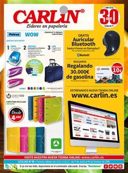 Ofertas de Libros y papelerías  en el folleto de Carlin en Estepona