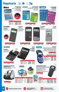 Ofertas de Calculadora en Carlin