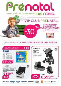 Ofertas de Juguetes y bebes  en el folleto de Prénatal en Córdoba