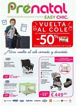 Ofertas de Silla de coche  en el folleto de Prénatal en Madrid