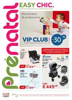 Ofertas de Juguetes y bebes  en el folleto de Prénatal en Madrid
