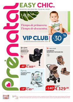 Ofertas de Juguetes y bebes  en el folleto de Prénatal en Palma de Mallorca