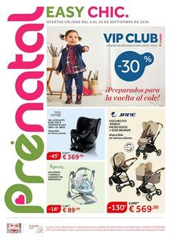 Ofertas de Juguetes y bebes  en el folleto de Prénatal en Paterna
