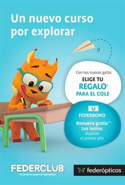 Ofertas de Salud y ópticas  en el folleto de Federópticos en Lucena