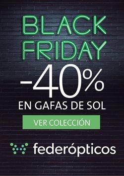 Ofertas de Black Friday  en el folleto de Federópticos en Madrid
