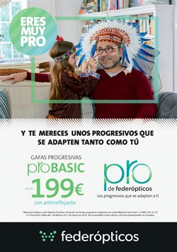 Ofertas de Salud y ópticas  en el folleto de Federópticos en Sevilla