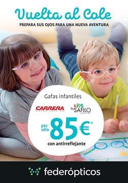 Ofertas de Gafas  en el folleto de Federópticos en Madrid