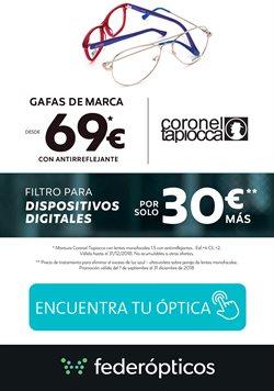 Ofertas de Óptica  en el folleto de Federópticos en Madrid