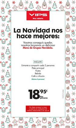 Ofertas de Restauración  en el folleto de Vips en Zaragoza
