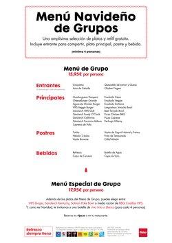 Ofertas de Restauración  en el folleto de Vips en Sagunt-Sagunto