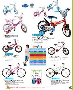 Ofertas de Ciclismo  en el folleto de ToysRus en Valladolid