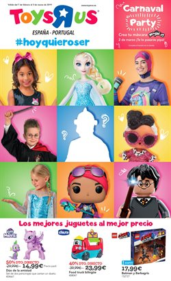 Ofertas de Juguetes y bebes  en el folleto de ToysRus en A Coruña
