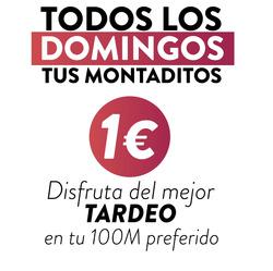Cupón 100 Montaditos en Fuengirola ( 19 días más )