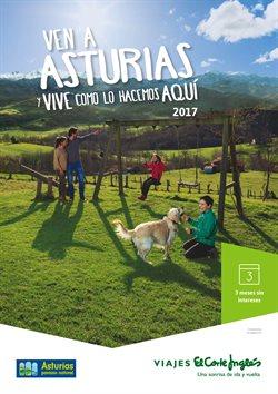 Ofertas de Viajes a Asturias  en el folleto de Viajes El Corte Inglés en Madrid