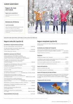 Ofertas de Seguros  en el folleto de Viajes El Corte Inglés en Madrid