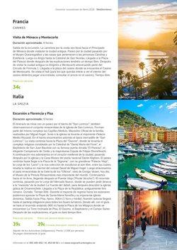 Ofertas de Viajes a Italia  en el folleto de Viajes El Corte Inglés en Barcelona
