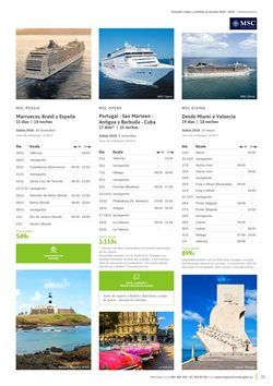 Ofertas de Viajes a Estados Unidos  en el folleto de Viajes El Corte Inglés en Madrid