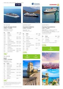 Ofertas de Viajes a Brasil  en el folleto de Viajes El Corte Inglés en Barcelona