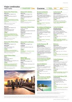 Ofertas de Cruceros  en el folleto de Viajes El Corte Inglés en Sanlúcar de Barrameda