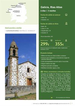 Ofertas de Hoteles  en el folleto de Viajes El Corte Inglés en A Coruña