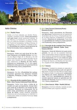 Ofertas de Viajes a Italia  en el folleto de Viajes El Corte Inglés en Madrid
