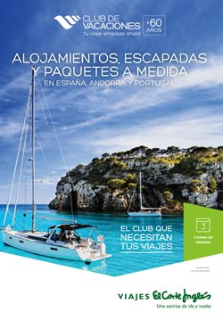 Ofertas de Viajes El Corte Inglés  en el folleto de Maspalomas