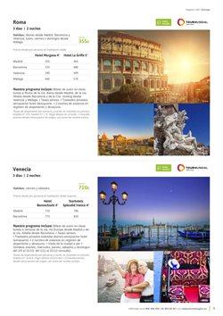 Ofertas de Viajes a Roma  en el folleto de Viajes El Corte Inglés en Madrid