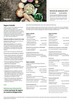 Ofertas de Seguros  en el folleto de Viajes El Corte Inglés en Las Palmas de Gran Canaria