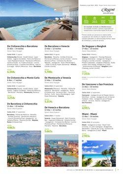 Ofertas de Viajes a Miami  en el folleto de Viajes El Corte Inglés en Barcelona