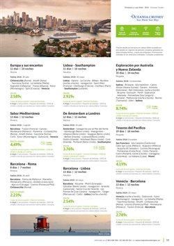 Ofertas de Viajes a París  en el folleto de Viajes El Corte Inglés en Madrid