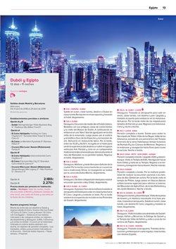 Ofertas de Viajes a Dubai  en el folleto de Viajes El Corte Inglés en Telde