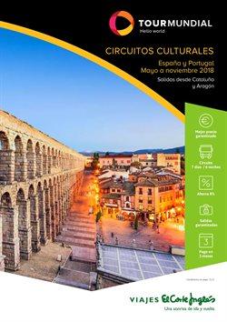 Ofertas de Circuitos  en el folleto de Viajes El Corte Inglés en Barcelona