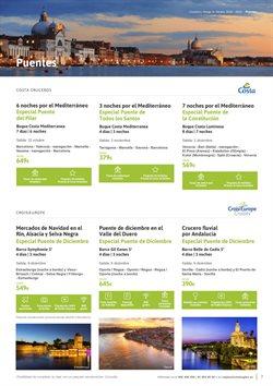 Ofertas de Cruceros fluviales  en el folleto de Viajes El Corte Inglés en L'Hospitalet de Llobregat