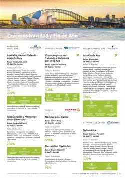 Ofertas de Viajes a Tailandia  en el folleto de Viajes El Corte Inglés en Madrid