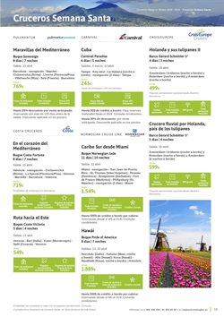 Ofertas de Viajes a Roma  en el folleto de Viajes El Corte Inglés en Zaragoza