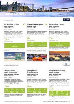 Ofertas de Viajes a Londres  en el folleto de Viajes El Corte Inglés en Siero