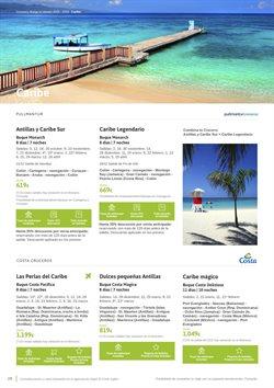 Ofertas de Viajes a Costa Rica  en el folleto de Viajes El Corte Inglés en Ávila
