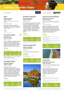 Ofertas de Viajes a Jordania  en el folleto de Viajes El Corte Inglés en Barcelona