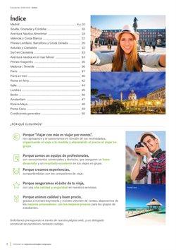 Ofertas de Viajes a Roma  en el folleto de Viajes El Corte Inglés en León