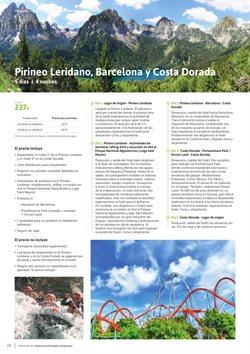 Ofertas de Viajes a Barcelona  en el folleto de Viajes El Corte Inglés en Madrid