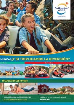 Ofertas de Port Aventura  en el folleto de Viajes El Corte Inglés en Barcelona