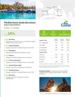 Ofertas de Viajes a Barcelona  en el folleto de Viajes El Corte Inglés en Vila-real