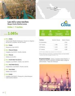 Ofertas de Viajes a Dubai  en el folleto de Viajes El Corte Inglés en Madrid