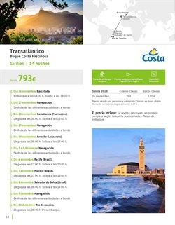 Ofertas de Viajes a Marruecos  en el folleto de Viajes El Corte Inglés en Madrid
